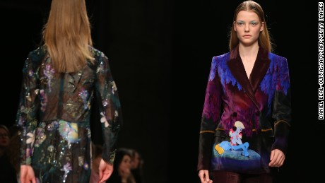 A look from a recent Mary Katrantzou show