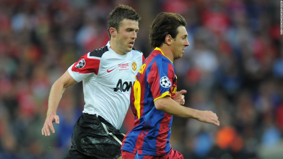 Then the sixth most expensive player in the club's history, Carrick has gone on to make over 440 appearances for the Red Devils, playing alongside and against the biggest names in the world.