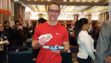 Memory champion Alex Mullen memorized the order of a deck of cards in 21.5 seconds at the 2015 World Memory Championships. He later set the current world record under 17 seconds.