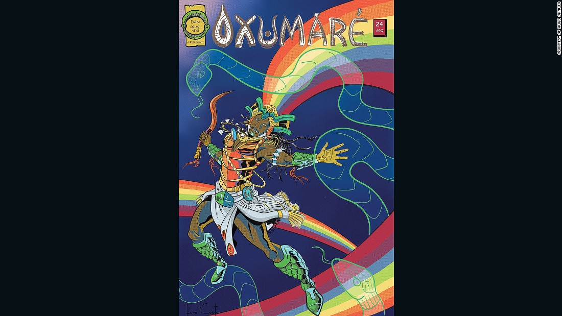 Oxumare is the orisha of the rainbow.
