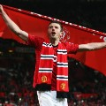 Michael Carrick Manchester United 2013 Premier league title celebrations