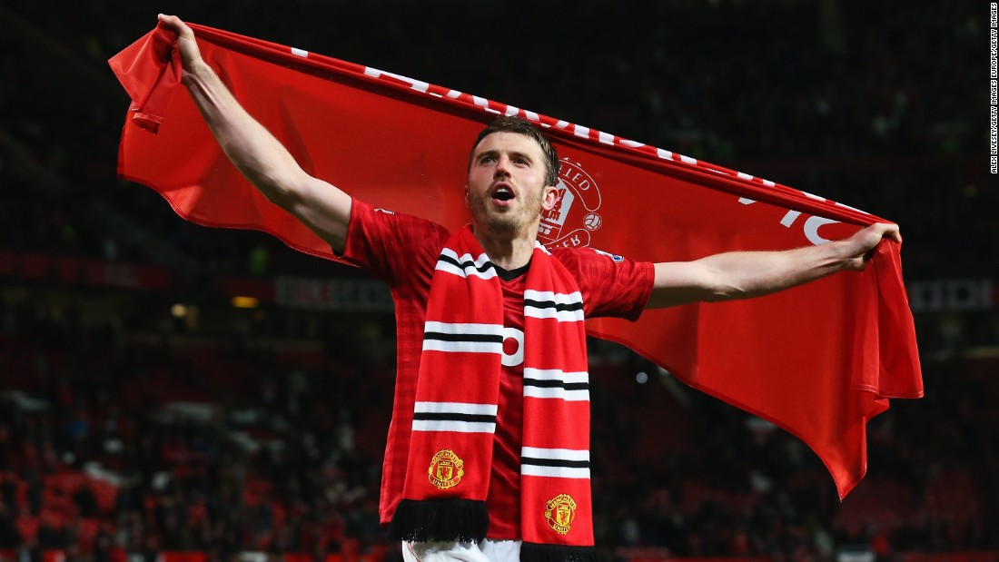 "Hailed as the ""complete player"" by Barcelona legend Xavi Hernández, Michael Carrick has continued to control Manchester United's midfield beyond his 35th birthday."