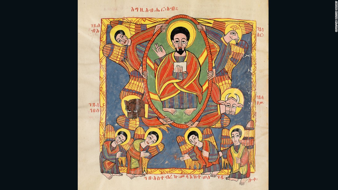 Since the 13th century to the present day, Ethiopians have sustained a remarkable tradition of Christian book illumination.<br />