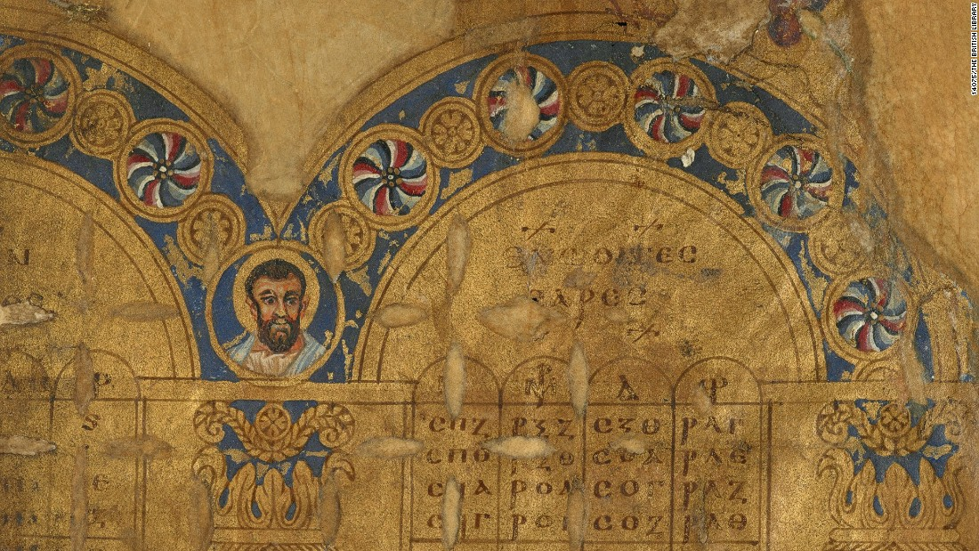 The manuscripts are spectacular examples of the painting undertaken there to embellish Christian texts, according to the authors. Now mere fragments, they hint at what fine early manuscripts of the Bible we might have lost.