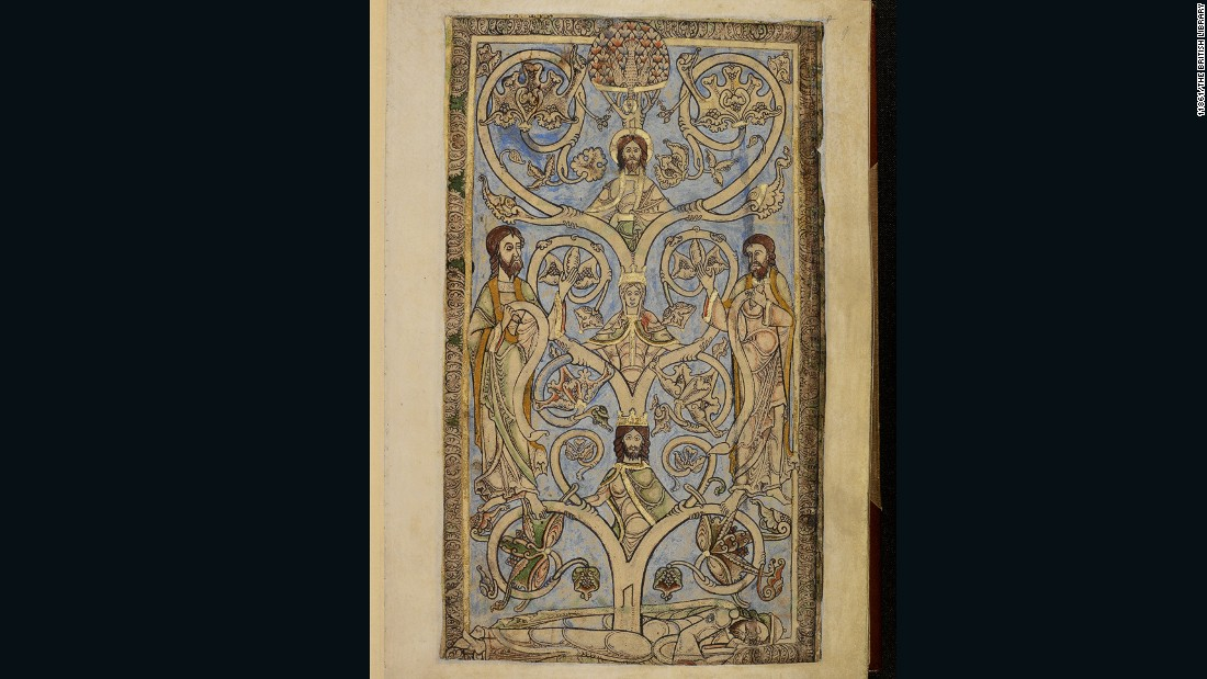 There are 12 manuscripts of the so-called Oxford Psalter from the 12th to 13th centuries, according to the authors. The Winchester Psalter, with an extensive cycle of images, is the most splendid copy of these English manuscripts.