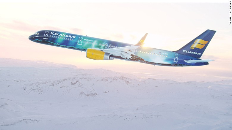 <strong>Icelandair -- Northern Lights: </strong>Not only is the livery of Icelandair's Boeing 757's Hekla Aurora design impressive, cabin lighting inside the plane also mimics the Northern Lights.