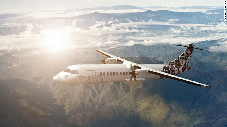 <strong>PNG Air -- AIR: </strong>PNG Air's new livery on its fleet of ATR 72-600 aircraft was designed to reflect Papua New Guinea's diversity and the traditional iconography of its people.