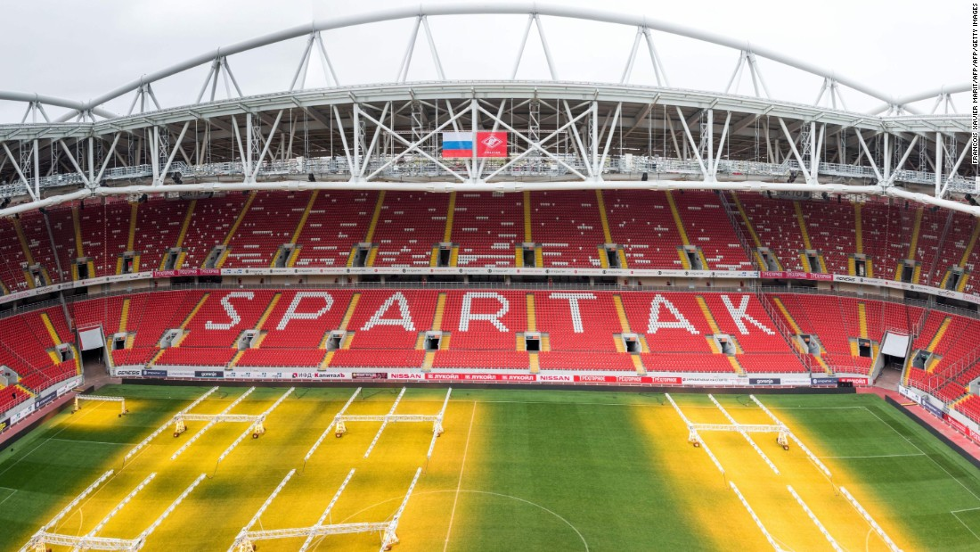 <strong>Spartak Stadium schedule:</strong><br /><strong>Confederations Cup</strong>: Group stage, third-place playoff<strong><br />World Cup</strong>: Last 16<br /><strong>Legacy: </strong>As well as hosting Spartak Moscow and the national side, the stadium will provide the center piece for a new residential development.<br />