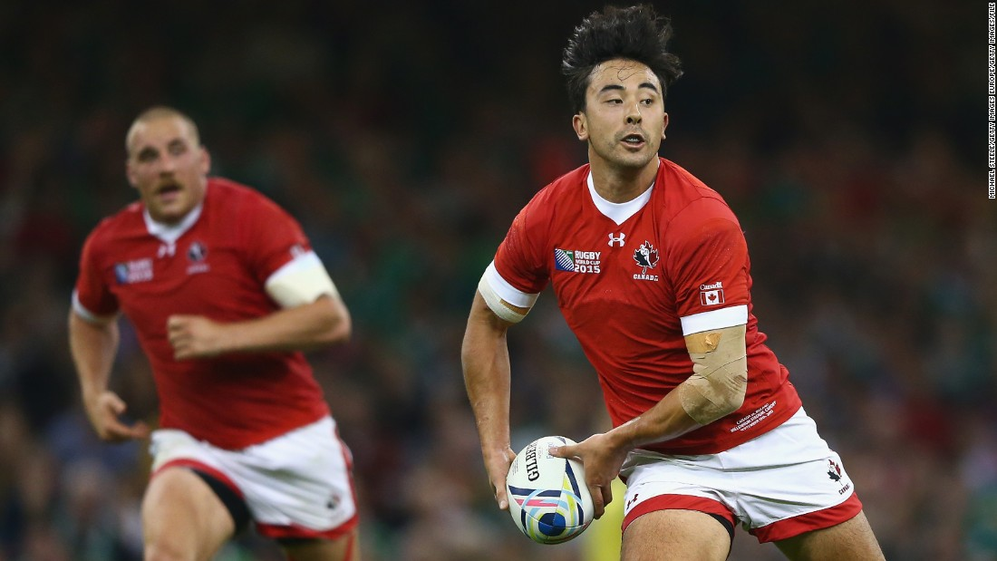 Hirayama, a flyhalf in the 15-a-side game, has played for Canada at the last two World Cups, including the 2015 event in Britain.