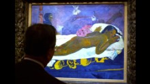 Gauguin left his native France for Tahiti, where he produced a series of sensual paintings such as