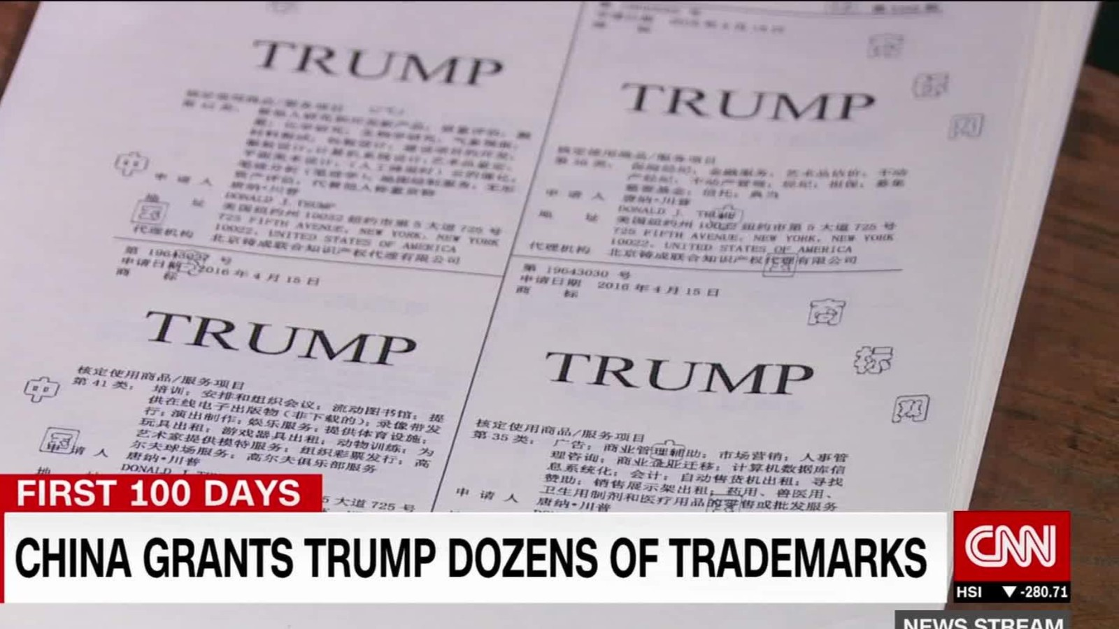 Image result for trump trademarks & China
