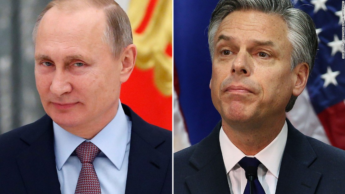 Huntsman: No question Russia interfered in US election