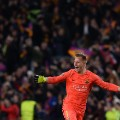 barcelona psg champions league celebrations ter stegen