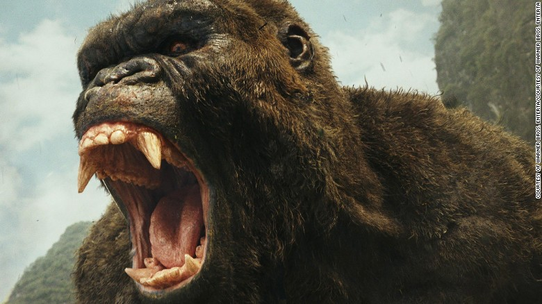 Review: 'Kong: Skull Island' is more numbskull island