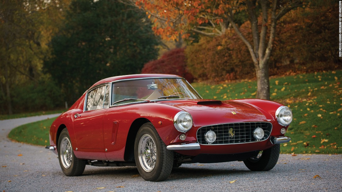 This Ferrari 250 GT SWB could well beat even the Bentley's price, with an estimate of $10 million.<br />