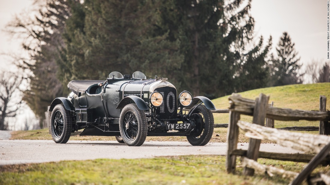 The 4½ Litre Bentley is expected to fetch as much as $7.5 million when it comes under the hammer.<br />