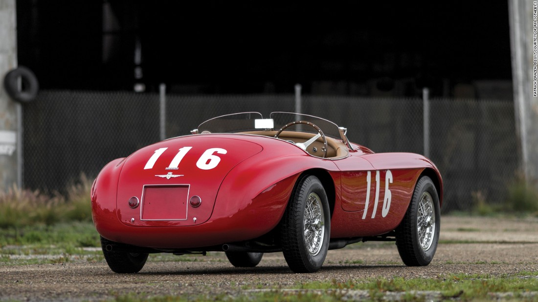 This award-winning 166 MM is a veteran that raced the Mille Miglia in 1951 and 1953 as well as the Pebble Beach Road Races.