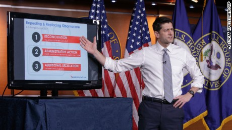 Twitter doctors Ryan's PowerPoint on Obamacare repeal