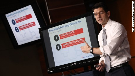 Paul Ryan refuses to say whether health bill would pass House if vote were Wednesday