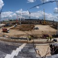 Samara stadium russia world cup 2018 construction