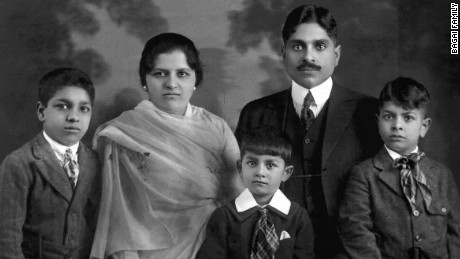 Vaishno Das Bagai arrived in San Francisco in 1915 with his wife and three sons.