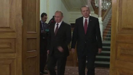 Russia and Turkey allied against ISIS