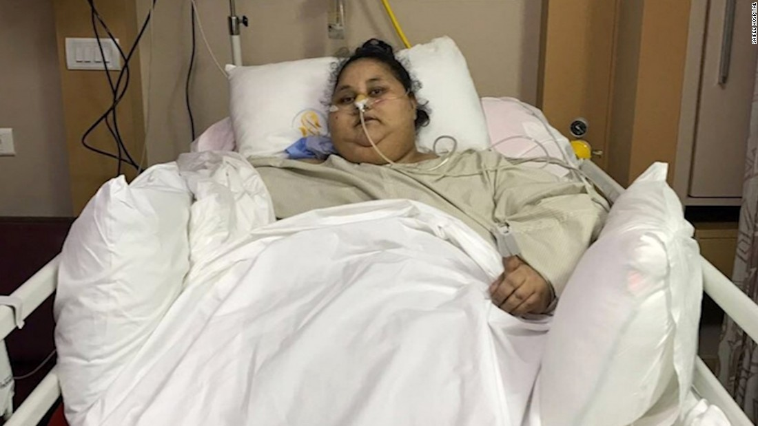 'World's heaviest woman' dies