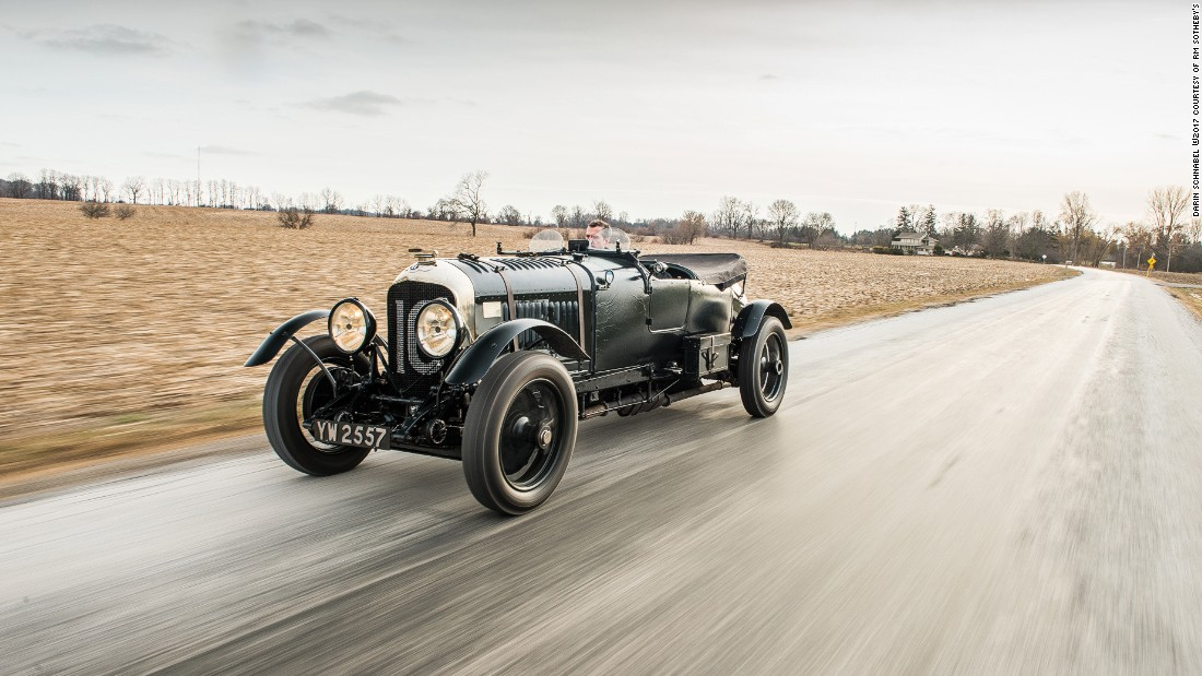 Cars like the Bentley 4½ Litre attract such huge sums because of their rarity, but also the stories that come with them.