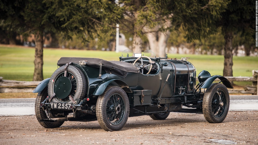 "This Bentley has strong appeal because it was driven by many of the famous ""Bentley boys"" racers."