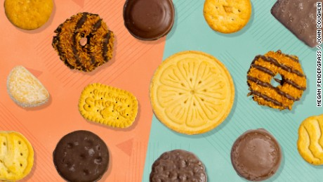 Girl Scout cookies ranked nutritionally, and how to stop yourself