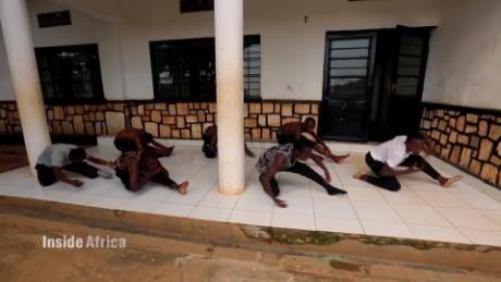 Inside Africa Rwanda Child Dancers A_00021506