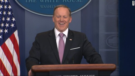 Spicer: Jobs reports aren't phony anymore