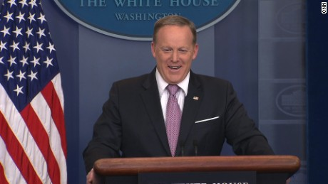 sean spicer laugh
