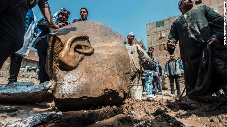 3,000-year-old statue unearthed in Egypt