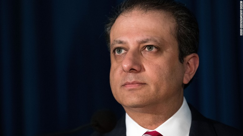 Bharara: I did not resign, I was fired