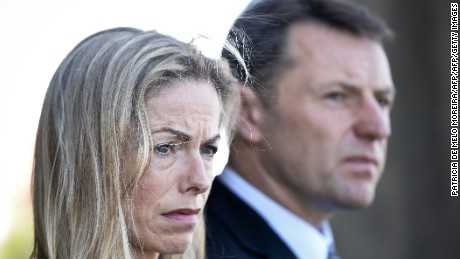 Kate McCann husband Gerry continue to search for their daughter after she disappeared in May 2007.