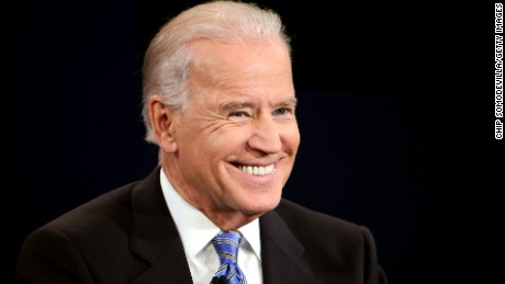 DANVILLE, KY - OCTOBER 11:  U.S. Vice President Joe Biden smiles during the vice presidential debate at Centre College October 11, 2012 in Danville, Kentucky.