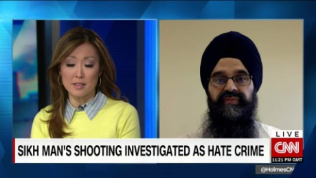 Sikh man's shooting investigated as hate crime
