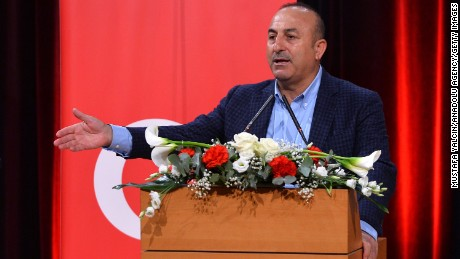 Turkish Foreign Minister Mevlut Cavusoglu has demanded answers from the Dutch.