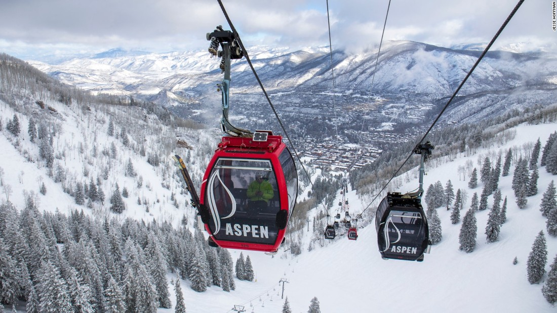 Four mountains make up Aspen Snowmass. Aspen Mountain has the best mix of slope action and town life.