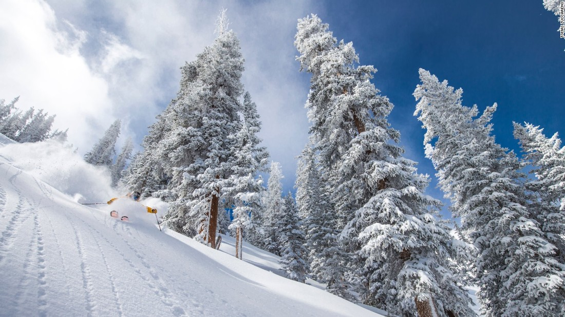 The Aspen Highlands ski area is loaded with challenging steeps and isn't in the spotlight as much as the other mountains.