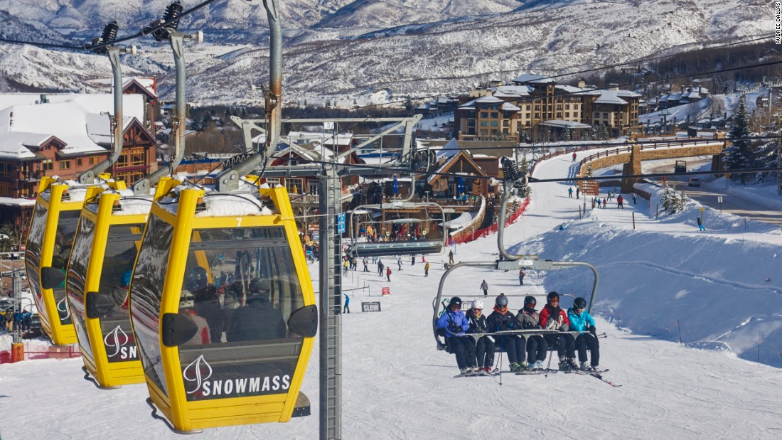 Snowmass is the largest resort of the quartet and is packed with extra-long, extra-wide intermediate runs.