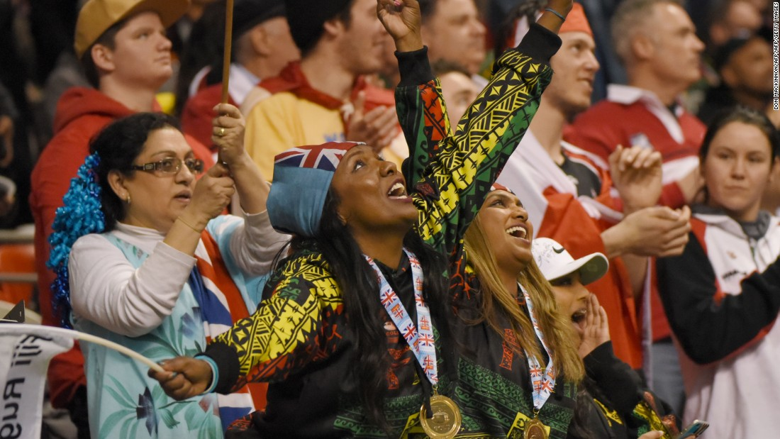 """The rugby sevens world series has a reputation for attracting vibrant crowds, and Vancouver was no exception. The hosts estimated <a href=""""http://www.canadasevens.com/press-release/record-crowd-set-for-2017/"""" target=""""_blank"""">76,000</a> would attend over the weekend, a 26% increase on last year."""