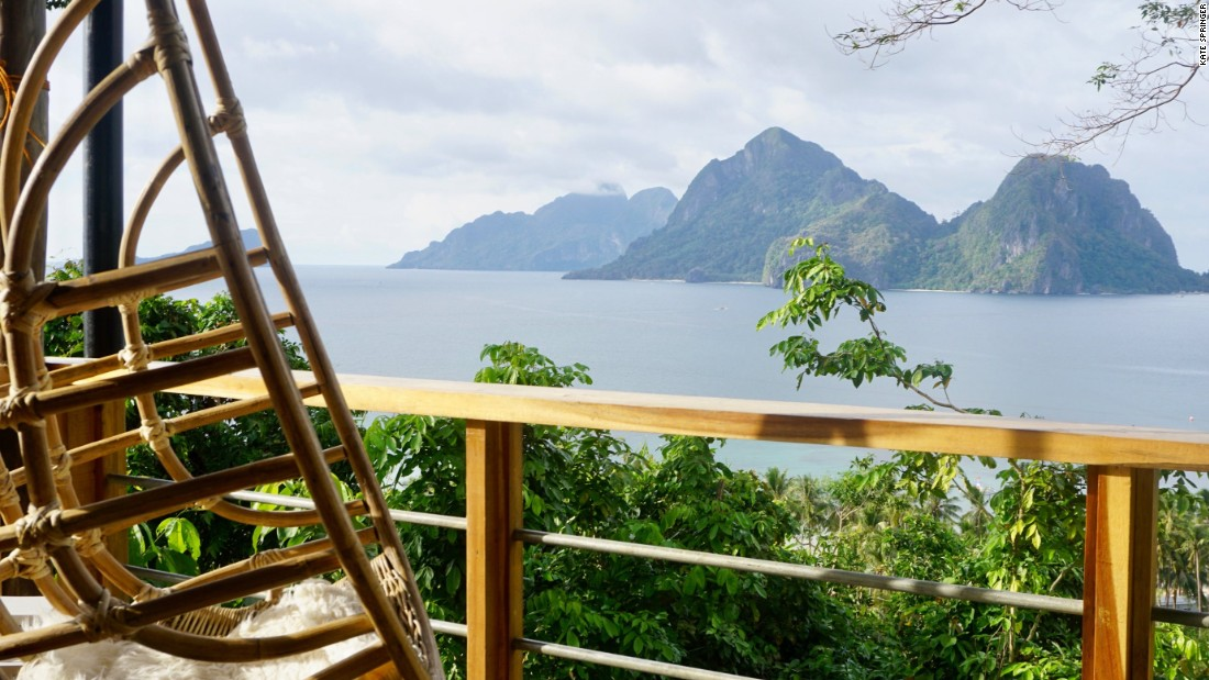 <strong>Mother Nest: </strong>At the very top of the stairs is the Mother Nest -- an open-air lobby and restaurant overlooking El Nido's iconic Bacuit Bay from a unique angle.