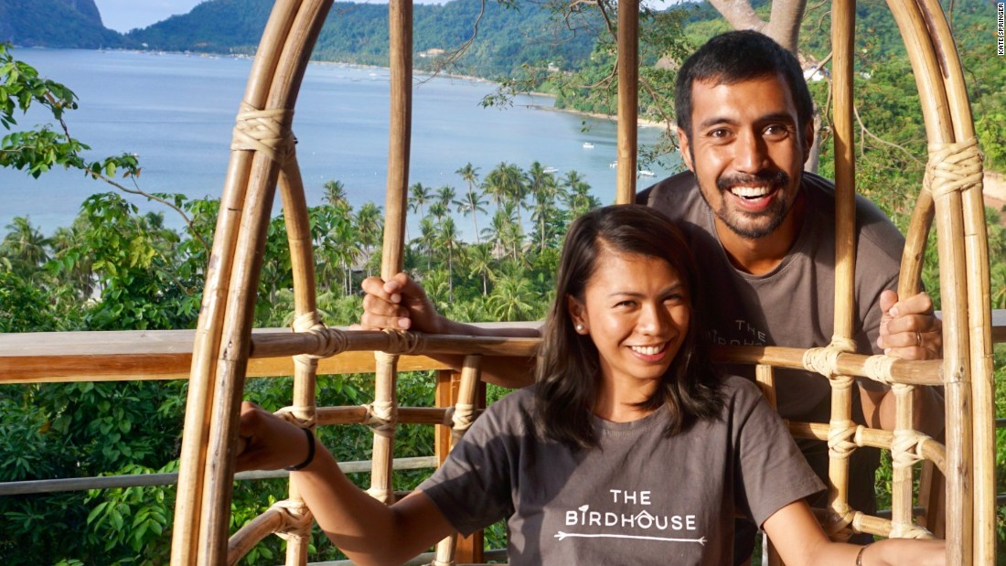 <strong>Never-ending honeymoon: </strong>The couple built the glamping retreat after traveling around the world on a 16-month-long honeymoon -- documented on their blog 365 Travel Dates.