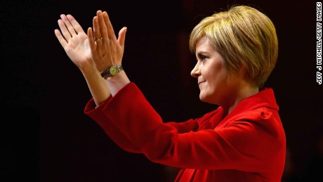 Nicola Sturgeon, the Scottish First Minister, wants a referendum before Britain leaves the EU.