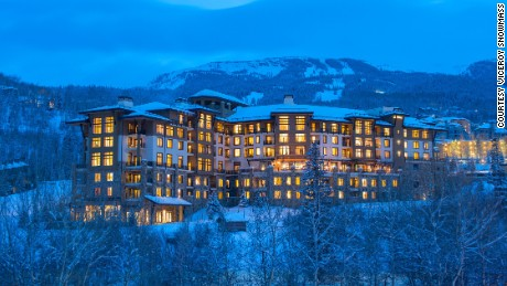 The ski in/ski out Viceroy Snowmass is a luxurious loding option.