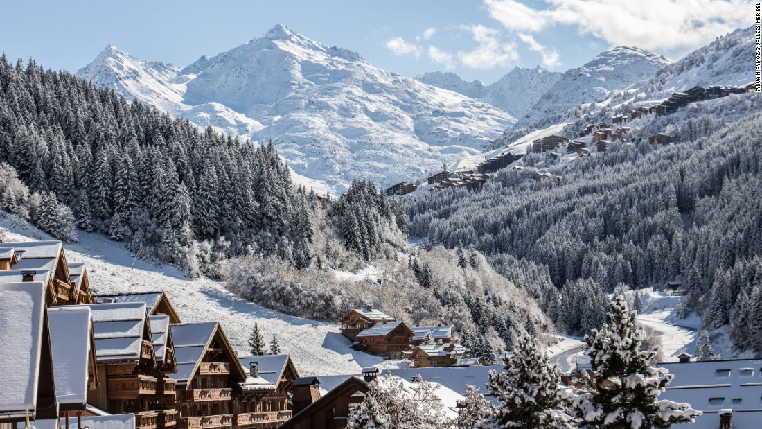 <strong>Les 3 Vallees, France: </strong>The titanic 3 Vallees is the world's biggest ski area with 600 kilometers of runs spread between the three main resorts of Courchevel, Meribel and Val Thorens.<br />