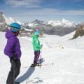 Zermatt summer skiing glacier
