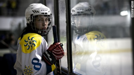 'Why are you playing ice hockey? You're a girl' -- Meet the women skating to success in Ukraine